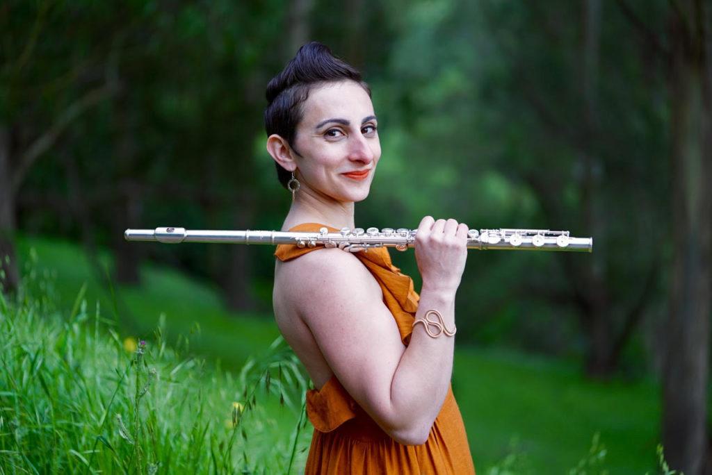 Ellie Falaris Ganelin, flute